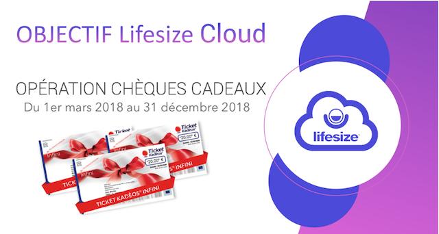 DWPRO-Lifesize Objectif Cloud-Remportez des chèques cadeaux