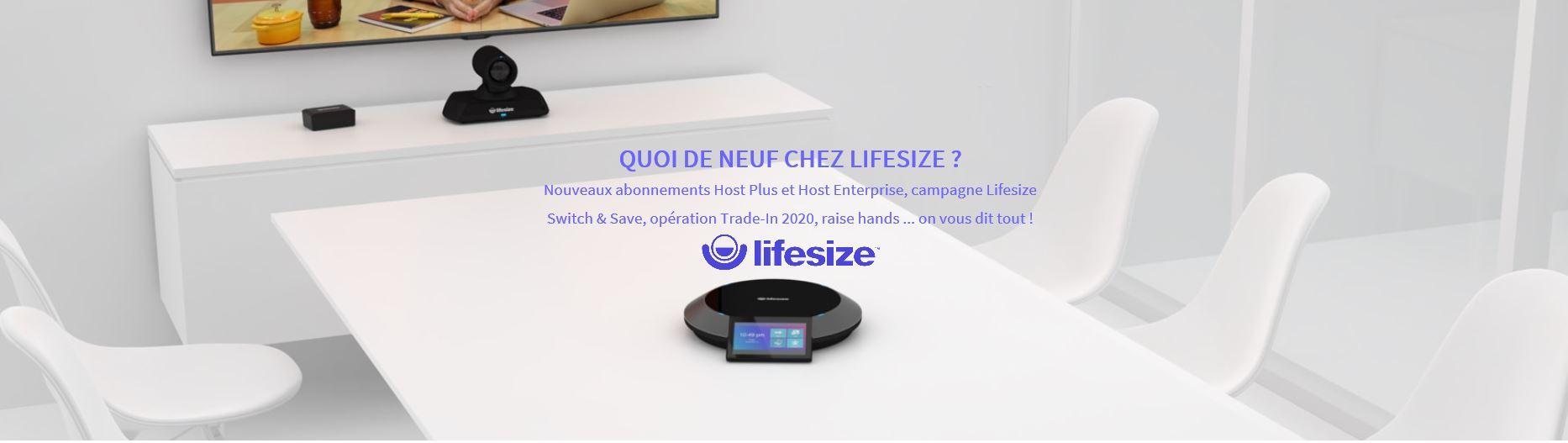 Quoi de neuf chez Lifesize ? Tour d´horizon de toutes les nouveautés et mises à jour techniques qui ont eu lieu  chez Lifesize au cours de ces trois derniers mois.