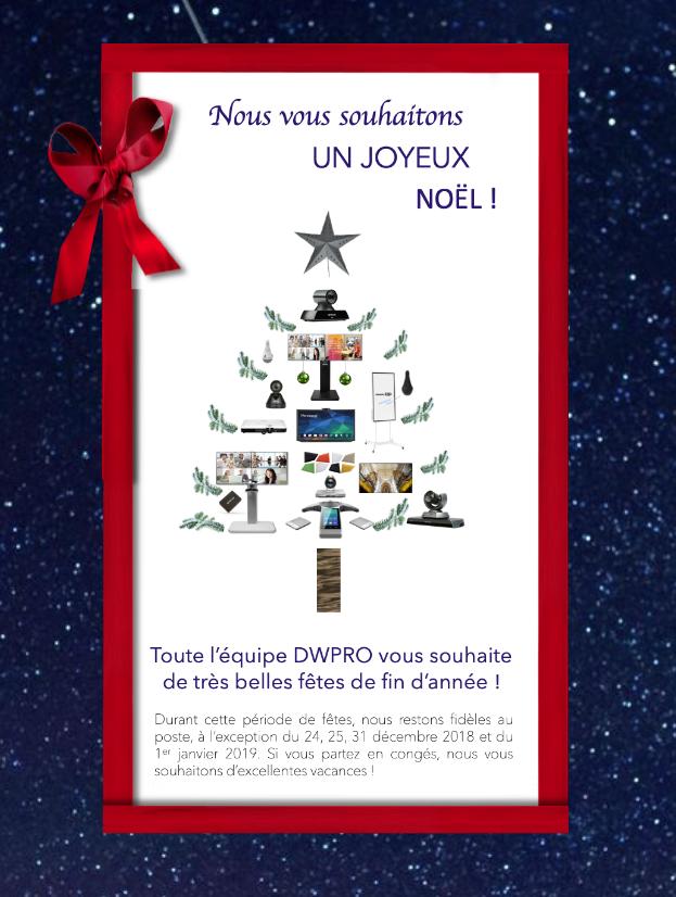 DWPRO | Nous vous souhaitons de très belles fêtes de fin d´année !
