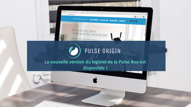DWPRO - Pulse Origin : La nouvelle version du logiciel de la Pulse Box est disponible !