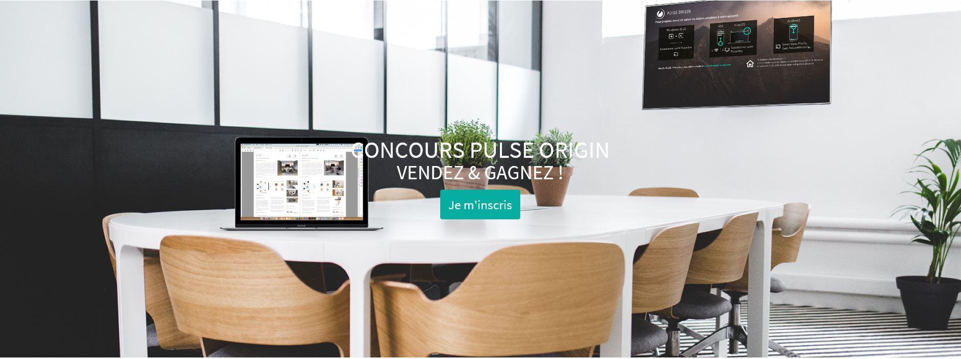 Concours Pulse Origin : vendez et gagnez !